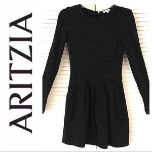 New ARITZIA Wildfred Pleaded DRESS Megan Markle